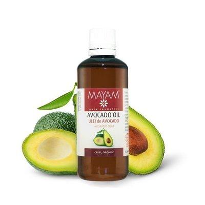 Ulei de Avocado BIO, crud, 100 ml