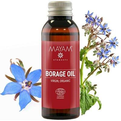 Ulei de Borago BIO, virgin, 50 ml