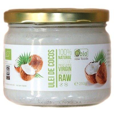 Ulei de cocos raw bio 250g