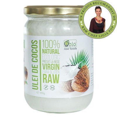 Ulei de Cocos virgin Organic 450g / 500ml