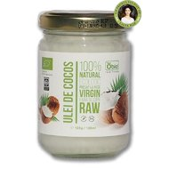 Ulei de cocos virgin raw bio 125g/135ml Obio
