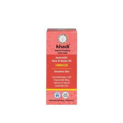 Ulei de hibiskus Indian, 10ml - Khadi