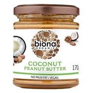 Unt de arahide cu cocos bio 170g Biona