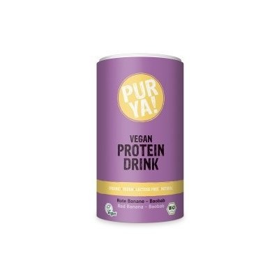 Vegan Protein Drink red banana-baobab bio 550g