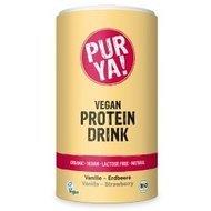 Vegan Protein Drink vanilie-capsuni bio 550g