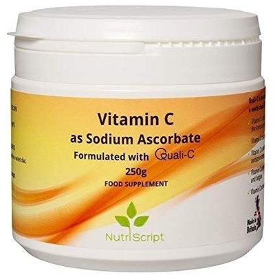 Vitamina C alcalina 250g Nutriscript