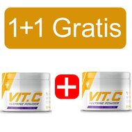 Vitamina C + Lysine pudra 300g Promo 1+1 Gratis