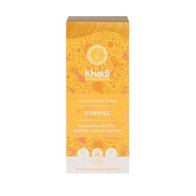 Vopsea de par naturala Blond Sunrise - Khadi, 100gr