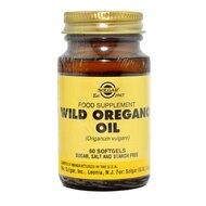 Wild Oregano Oil (Ulei de Oregano Salbatic), 60 cps vegetale, SOLGAR