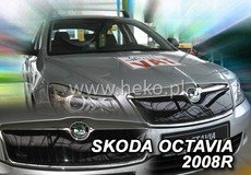 Masca radiator SKODA OCTAVIA II facelift an fabr. 2008-2012 (marca  HEKO)