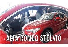 Paravant Alfa Romeo Stelvio, dupa 2017-