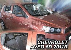 Aparatoare capota CHEVROLET   AVEO 165 an fabr. 2006- (marca  HEKO)