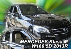 Paravanturi auto Mercedes ML W166, 2011--