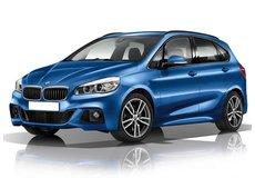 Tavita portbagaj BMW Seria 2 Combi 2014-