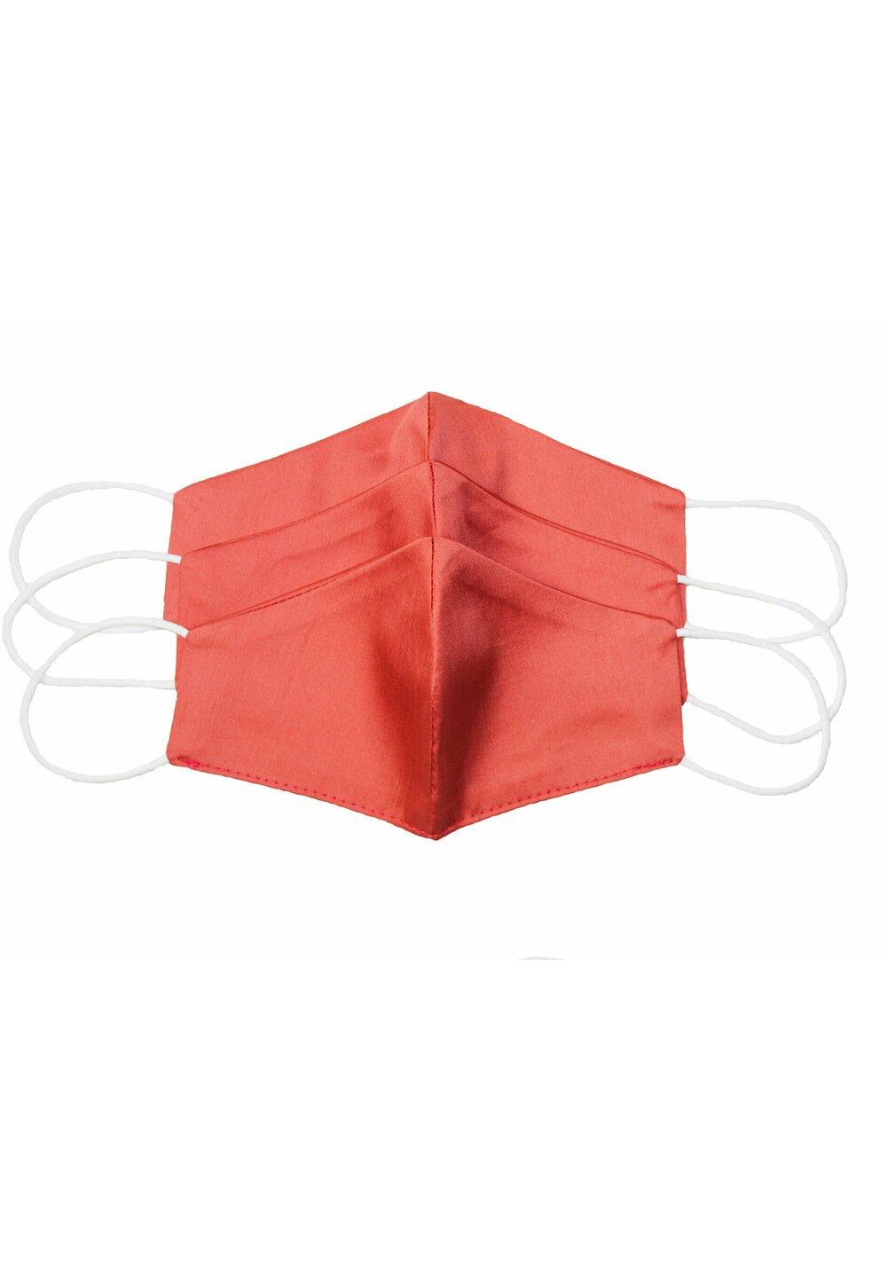 Masca reutilizabila, set 3 buc,copii, 6-10 ani, portocalie imagine