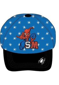 Sapca, Spider Man, SM, albastru cu negru