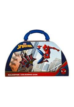 Set accesorii  scoala, 49 piese, Spider Man,