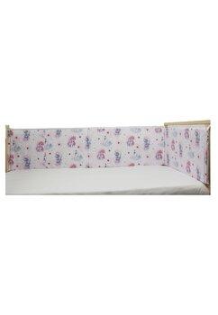 Aparatoare laterala patut, Unicornul roz, 180 x 30 cm