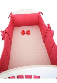 Aparatoare patut, roz inchis, 180 x 30 cm