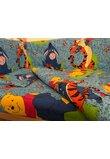 Aparatoare patut, Winnie si Aiurel, albastru, 180 x 30 cm