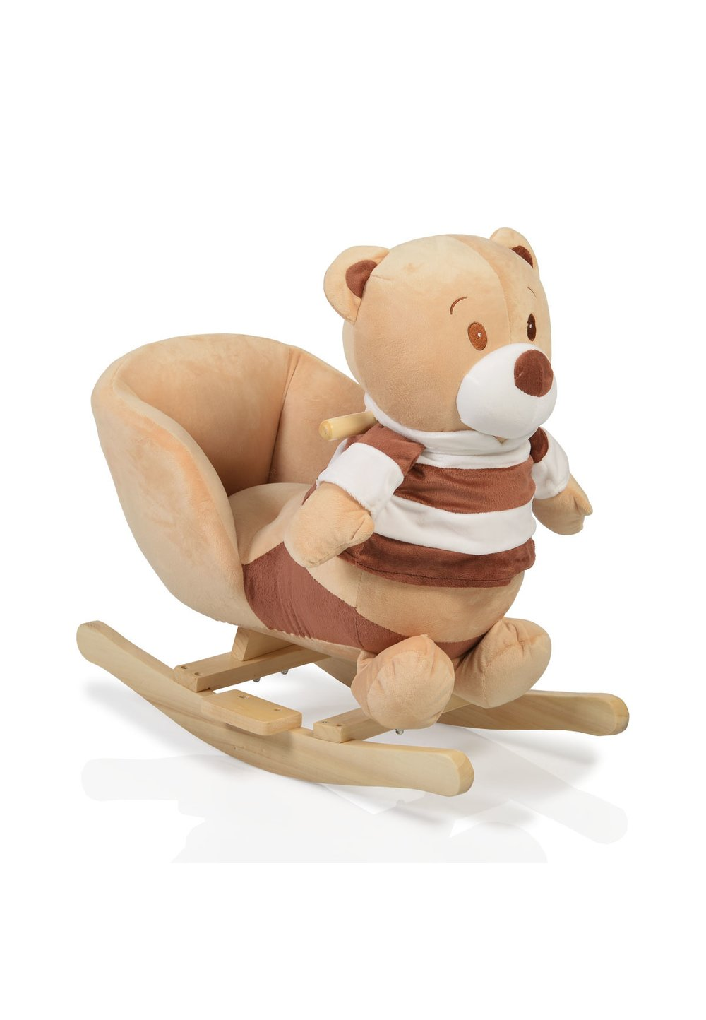 Balansoar, ursulet, cu tricou in dungi imagine