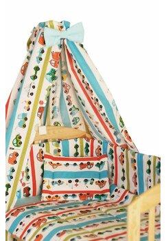 Baldachin patut, masinute turcoaz, 150x210 cm