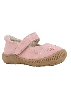 Balerini cu scai, roz prafuit cu pisicuta