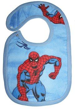Baveta, albastra, Spider-Man, 6-12 luni
