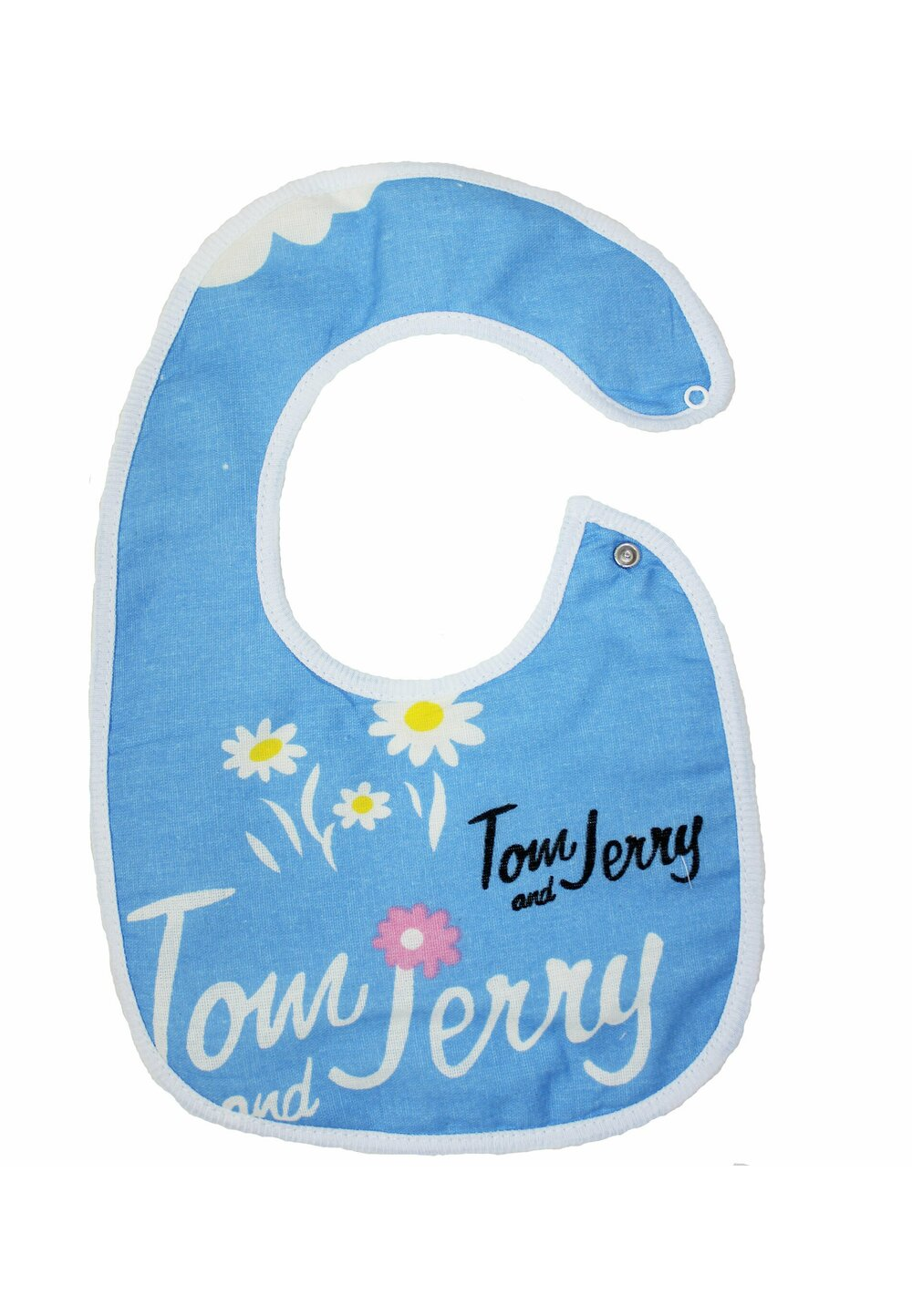 Baveta bebe, Tom and Jerry, albastra, 0-6 luni imagine