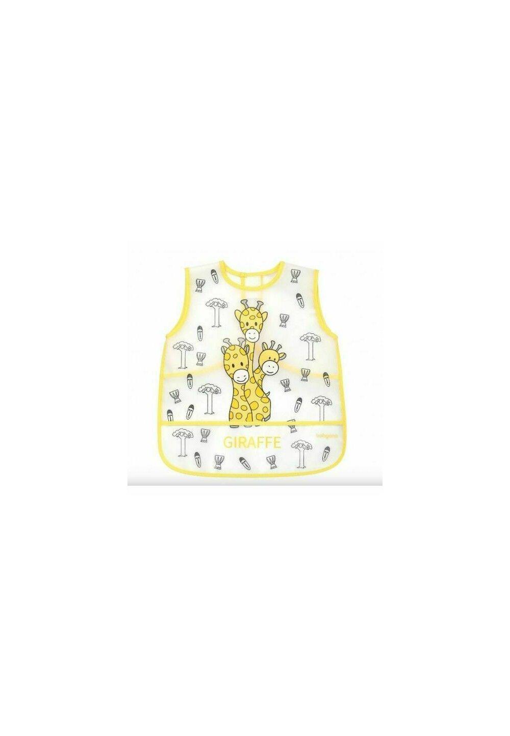 Baveta tip sort, Giraffe, galbena, + 12 luni imagine