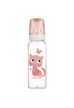 Biberon Canpol, +12luni, Kitty, roz, 250ml