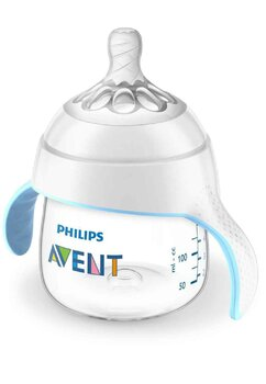 Biberon cu maner, Philips Avent Natural, + 4 luni