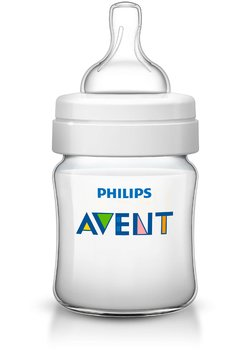 Biberon plastic, Avent, Clasic plus,125ml