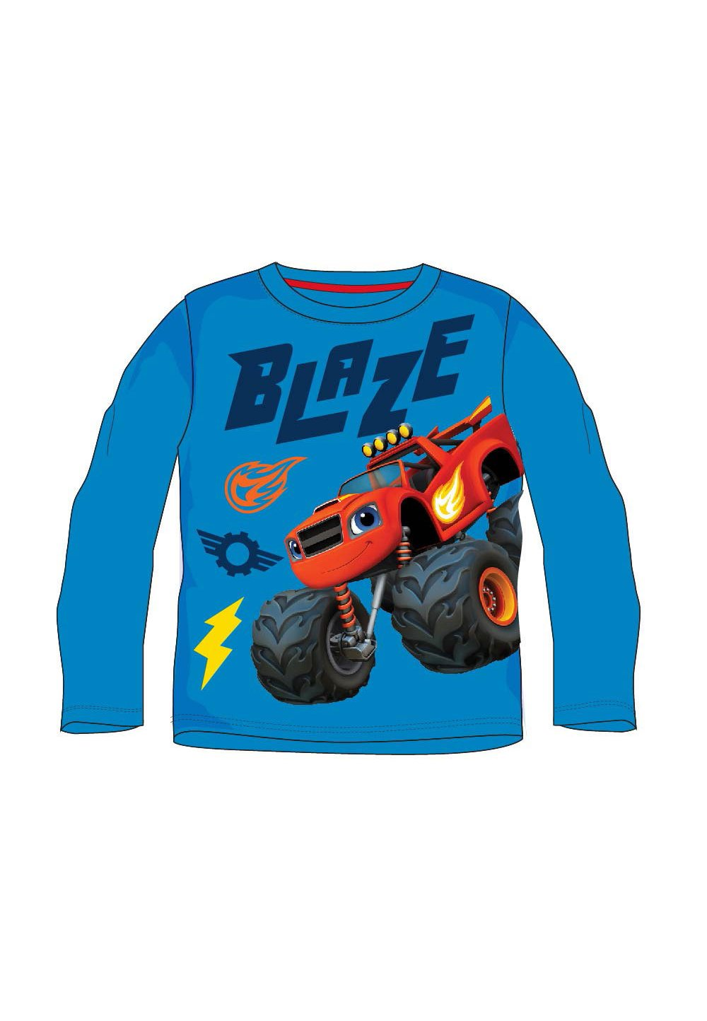Bluza, albastra, Blaze