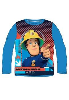 Bluza albastra, Pompierul Sam