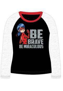 Bluza, Be brave, be miraculous, neagra
