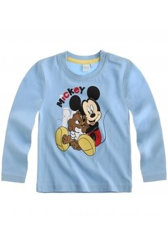 Bluza bebe Mickey albastra