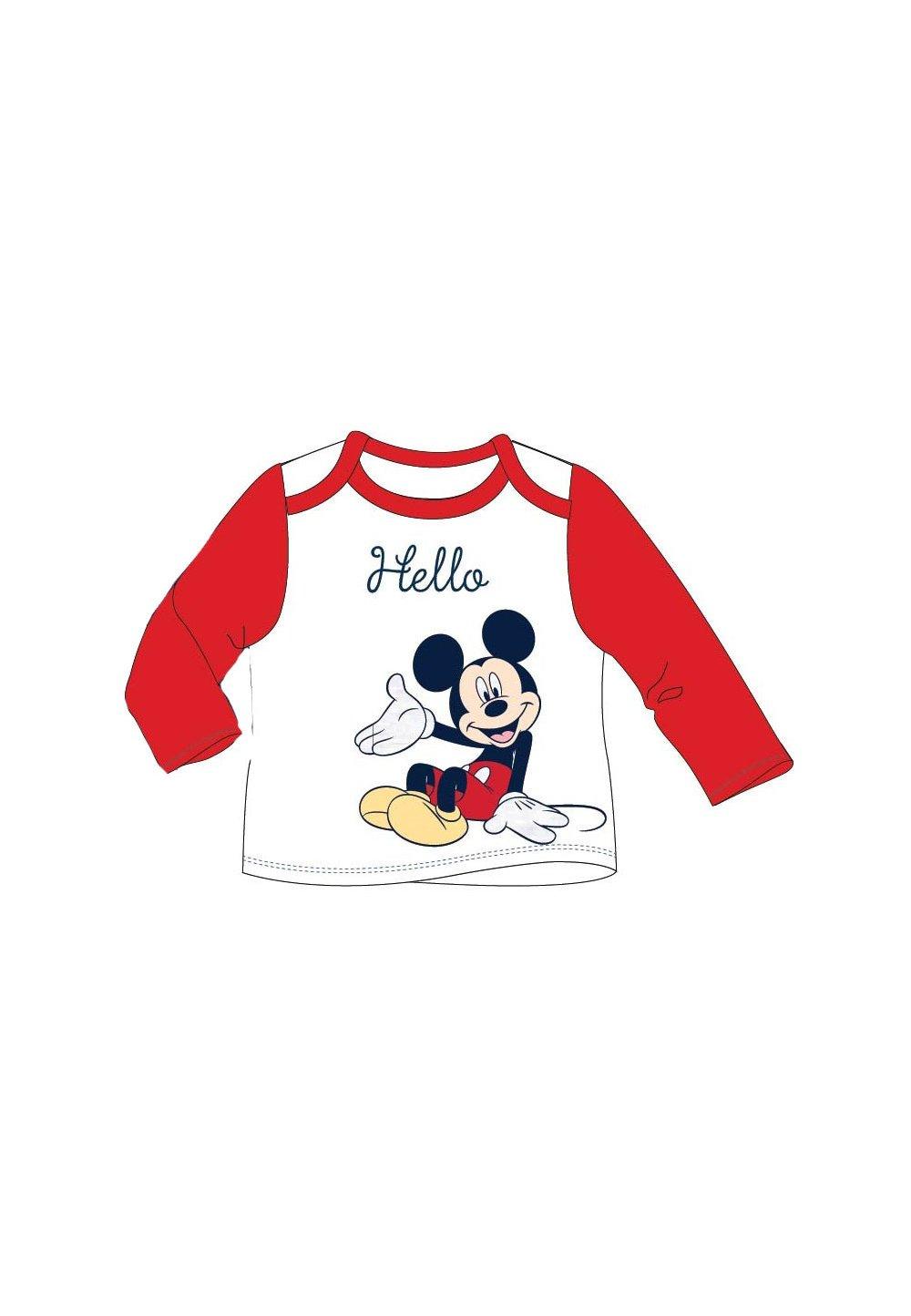Bluza bebe, Hello Mickey, rosie imagine