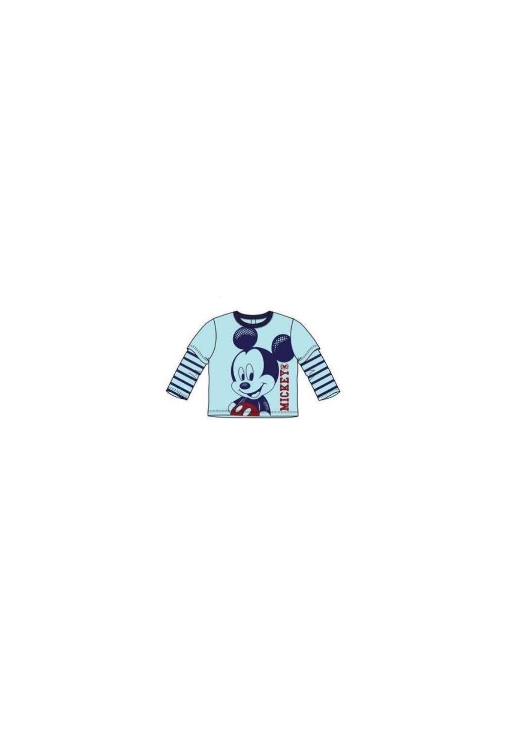 Bluza, Mickey, albastra cu dungi imagine