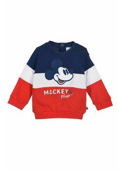Bluza bebe, Mickey Mouse, rosu cu bluemarin