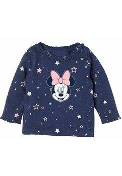 Bluza bebe, Minnie Mouse, bluemarin cu stelute colorate