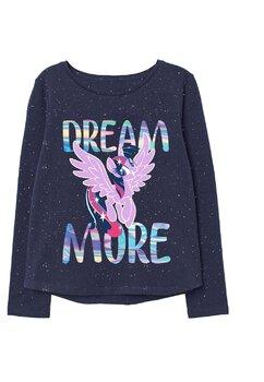 Bluza bumbac, Dream more, Pony, bluemarin