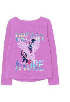 Bluza bumbac, Dream more, Pony, roz