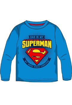 Bluza, Dad is my superman, albastra