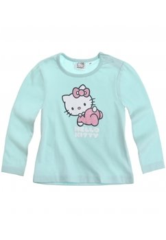 Bluza bebe Hello Kitty verde