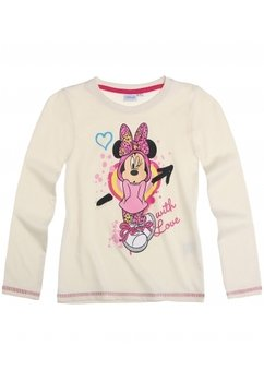 Bluza disney with love crem
