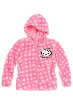 Bluza fleece, Hello Kitty, roz