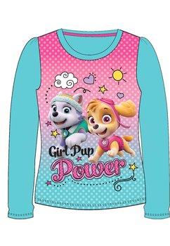 Bluza ,Girl pup power, turcoaz