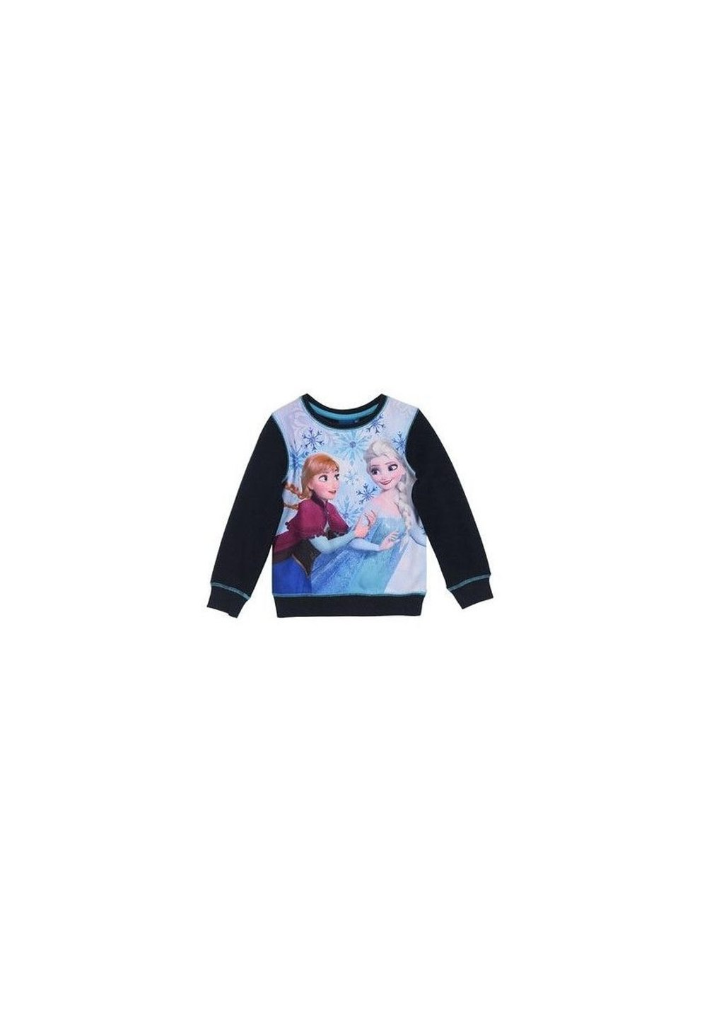 Bluza groasa Anna si Elsa, bluemarin imagine