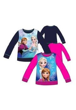 Bluza groasa Anna si Elsa, roz